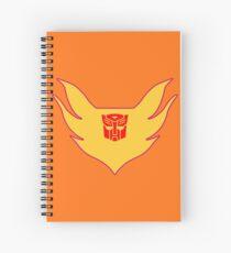 Hot Rod Flame Logo Spiral Notebook