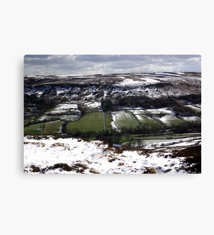 Farndale - North Yorks Moors Canvas Print