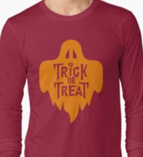 Trick Or Treat Halloween Ghost T-Shirt