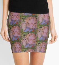Owl Goddess Mini Skirt