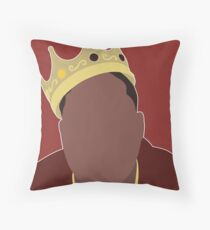 NOTORIOUS BIG Throw Pillow