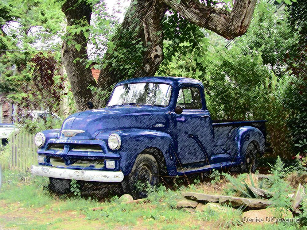 chevy truck by Denise DiGiovanna