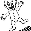 Sticker Baby on board by Airmatti