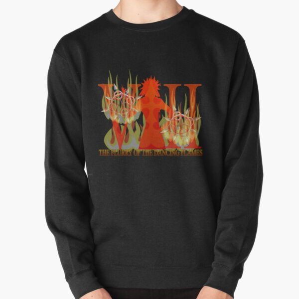 THE FLURRY OF THE DANCING FLAMES Pullover Sweatshirt
