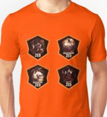 League of Legends ZED [4 in 1 set] T-Shirt