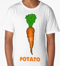 Potato Carrot Long T-Shirt