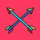 Neon Arrows by jezkemp