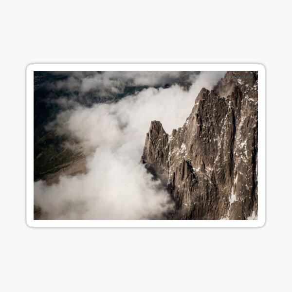 Rock meets cloud Sticker