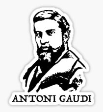 Antoni Gaudi Sticker