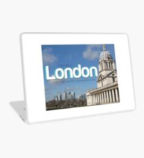 Bad day in London Laptop Skin