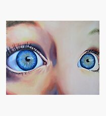 Wide Eyed Photographic Print