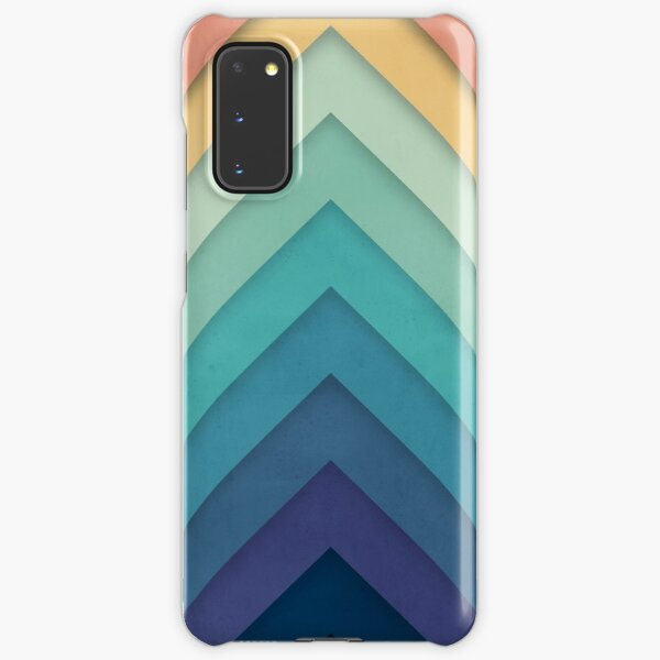 Retro Chevrons 002 Samsung Galaxy Snap Case