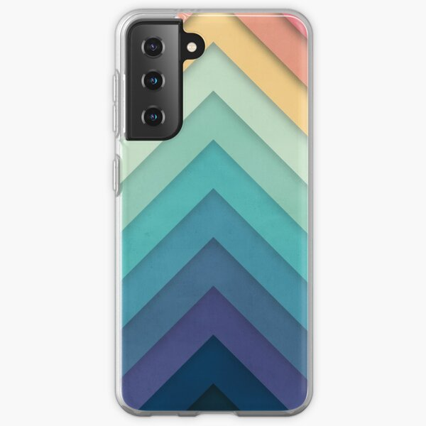 Retro Chevrons 002 Samsung Galaxy Soft Case