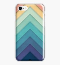 Retro Chevrons 002 iPhone Case/Skin