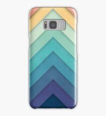 Retro Chevrons 002 Samsung Galaxy Case/Skin