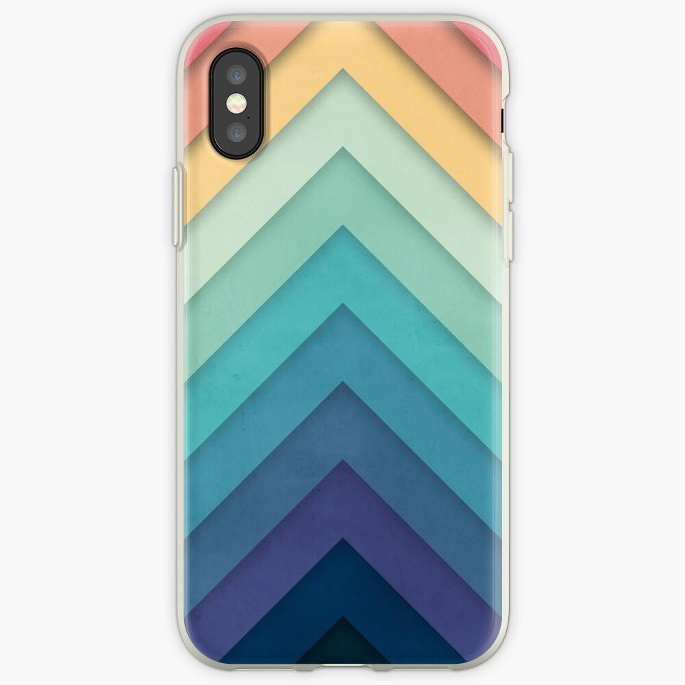 Retro Chevrons 002 iPhone-Hüllen & Cover