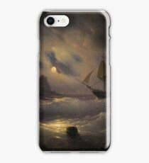 AIVAZOVSKY, IVAN () Gibraltar by Night iPhone Case/Skin