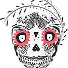 sugar skull mask by tonadisseny