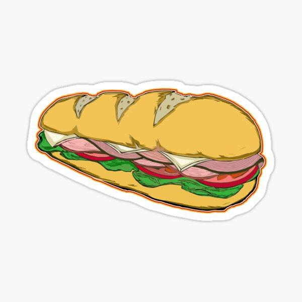 SUBMARINE SANDWICH Sticker