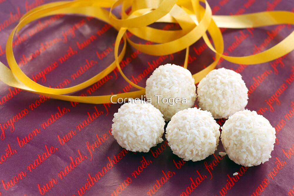 Christmas coconut balls by Cornelia Togea
