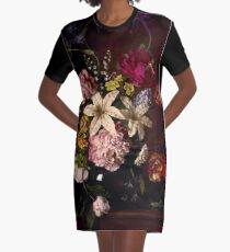 Rikard Osterlund's Flowers (Devoured Purity) Graphic T-Shirt Dress