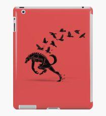 Werewolf Running from Ravens iPad Case/Skin