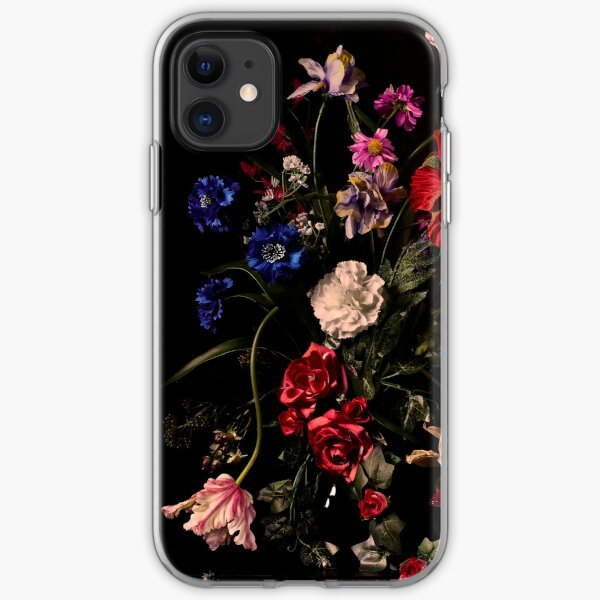 Rikard Osterlund's Flowers (Atrophy of Logic) iPhone Soft Case