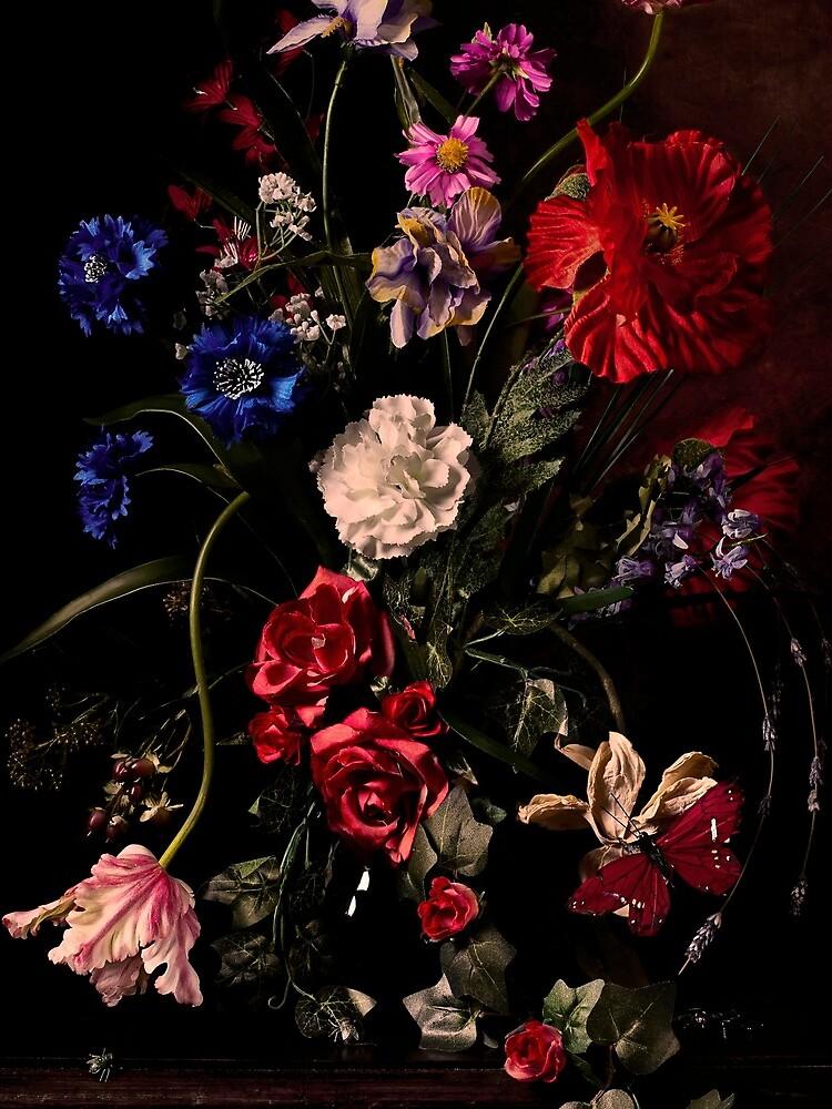 Rikard Osterlund's Flowers (Atrophy of Logic) by zaracarpenter