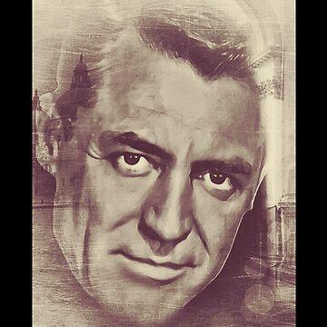 Cary Grant by LiseBriggs