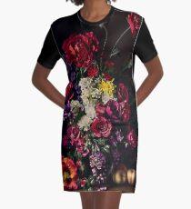 Rikard Osterlund's Flowers (Philosophy of Futility) Graphic T-Shirt Dress