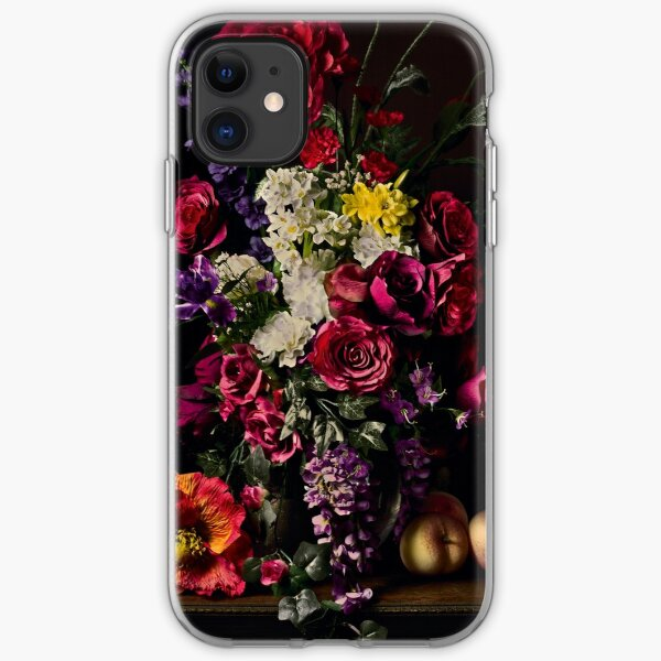 Rikard Osterlund's Flowers (Philosophy of Futility) iPhone Soft Case