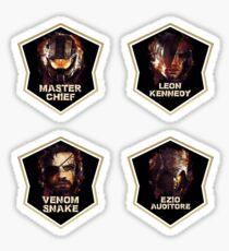 Gaming Legends [4 in 1 set] #1 Sticker