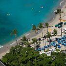 Hawaii Honolulu Waikiki Beach by Toni McPherson