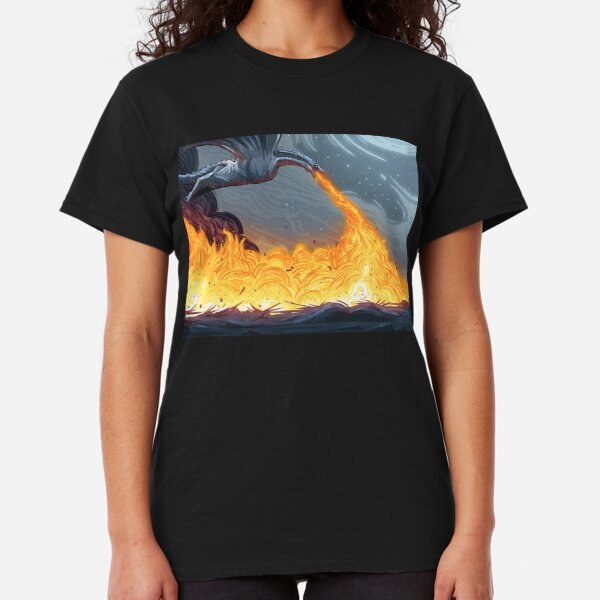 Fire and Blood Classic T-Shirt