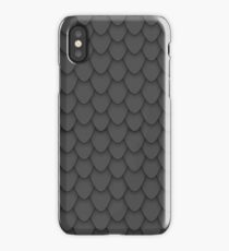 Black Dragon Scales iPhone Case