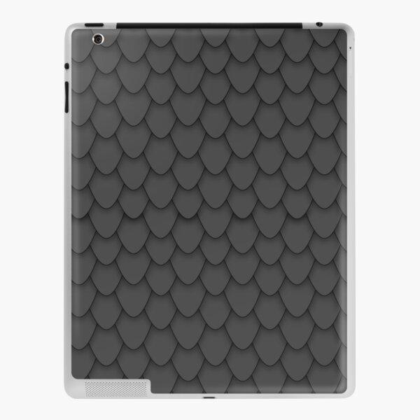 Black Dragon Scales iPad Skin