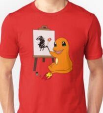 Charmander is an Artist! T-Shirt