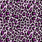 Purple Leopard Print  by ironydesigns