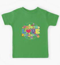 Peace Love Kindergarten Kids Clothes