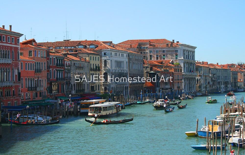 Venezia Canal by Sue Thompson