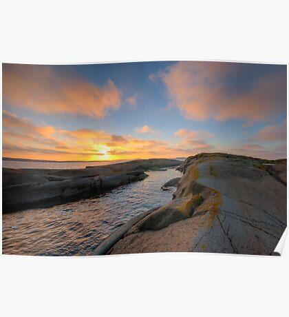 archipelago sunset cove Poster