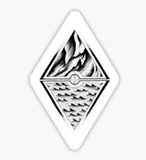 Mountainside/Oceanside Sticker