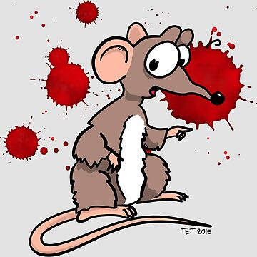 Smash Mouse Blood Spatters by etourist