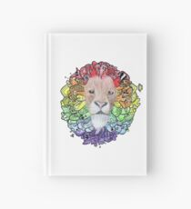 The Doodle Lion Hardcover Journal