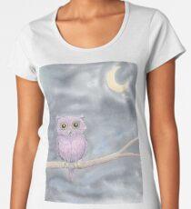 Owl on a Limb Women's Premium T-Shirt