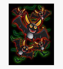 BATTY ABOUT BATS Photographic Print