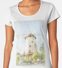 The  Windmill, Launceston, Tasmania, Australia #3 Women's Premium T-Shirt