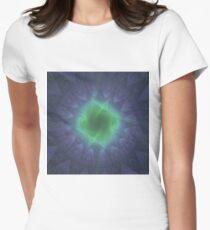 Energy Portal In The Reflecting Pool   Fractal Art T-Shirt