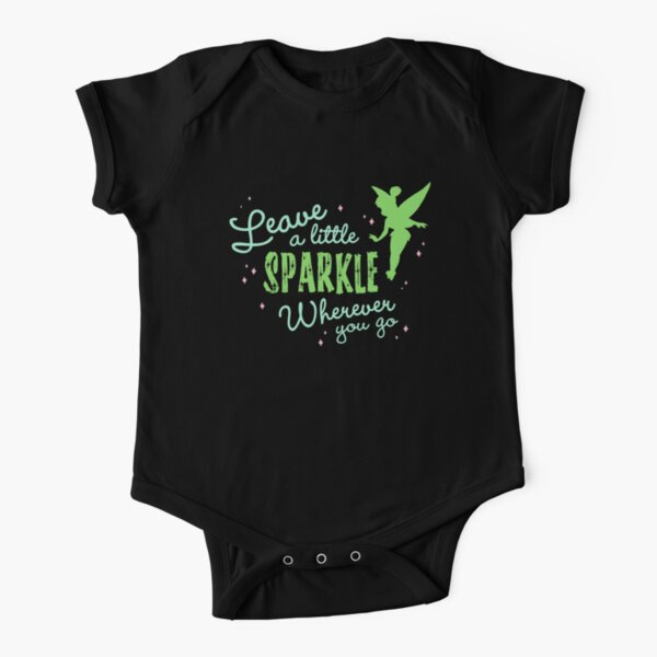 Leave a Little Sparkle Wherever You Go Short Sleeve Baby One-Piece