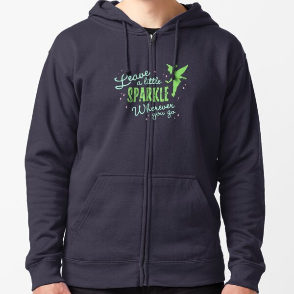 Leave a Little Sparkle Wherever You Go Zipped Hoodie